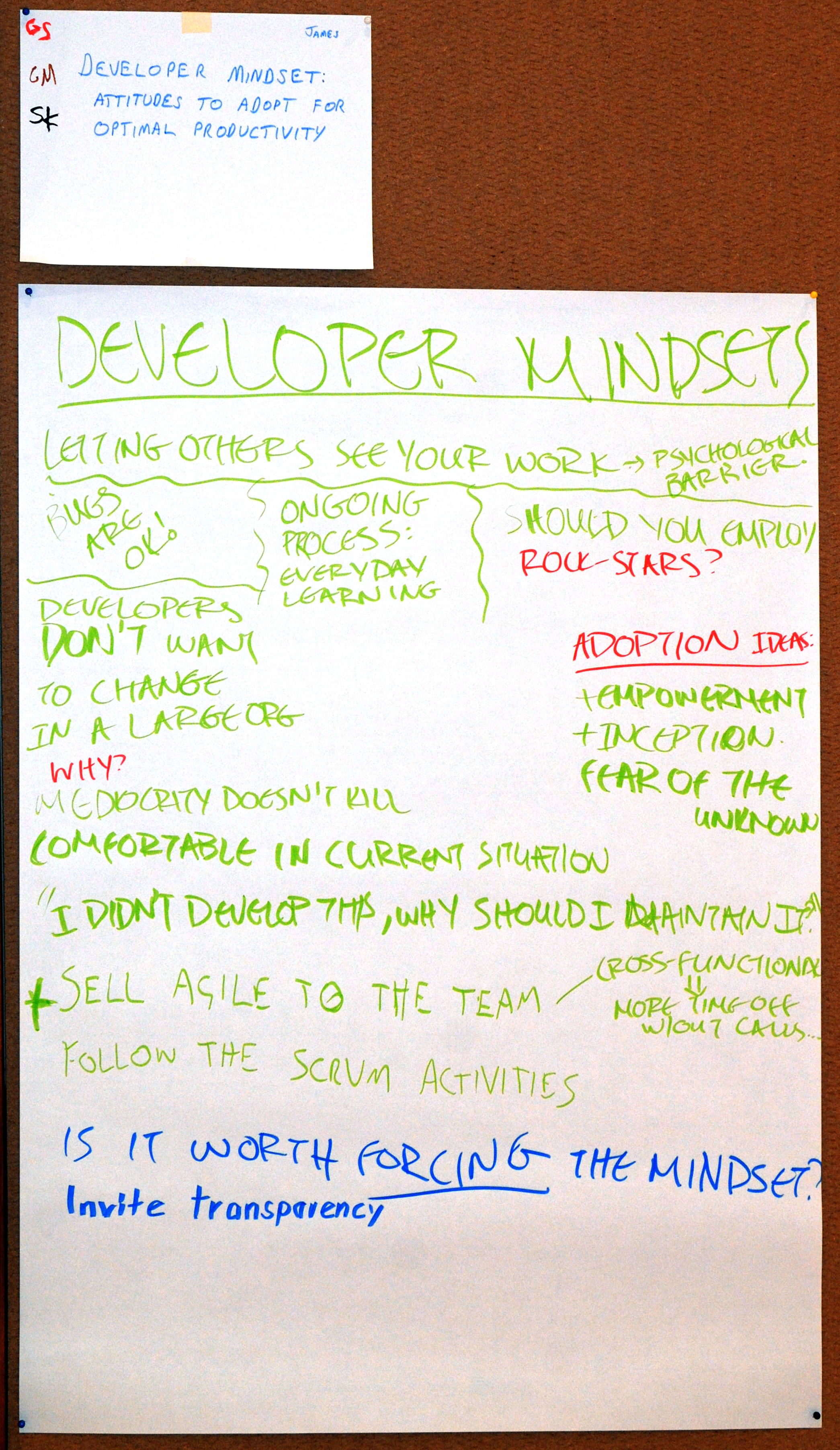 Harvest - Developer Mindsets 1