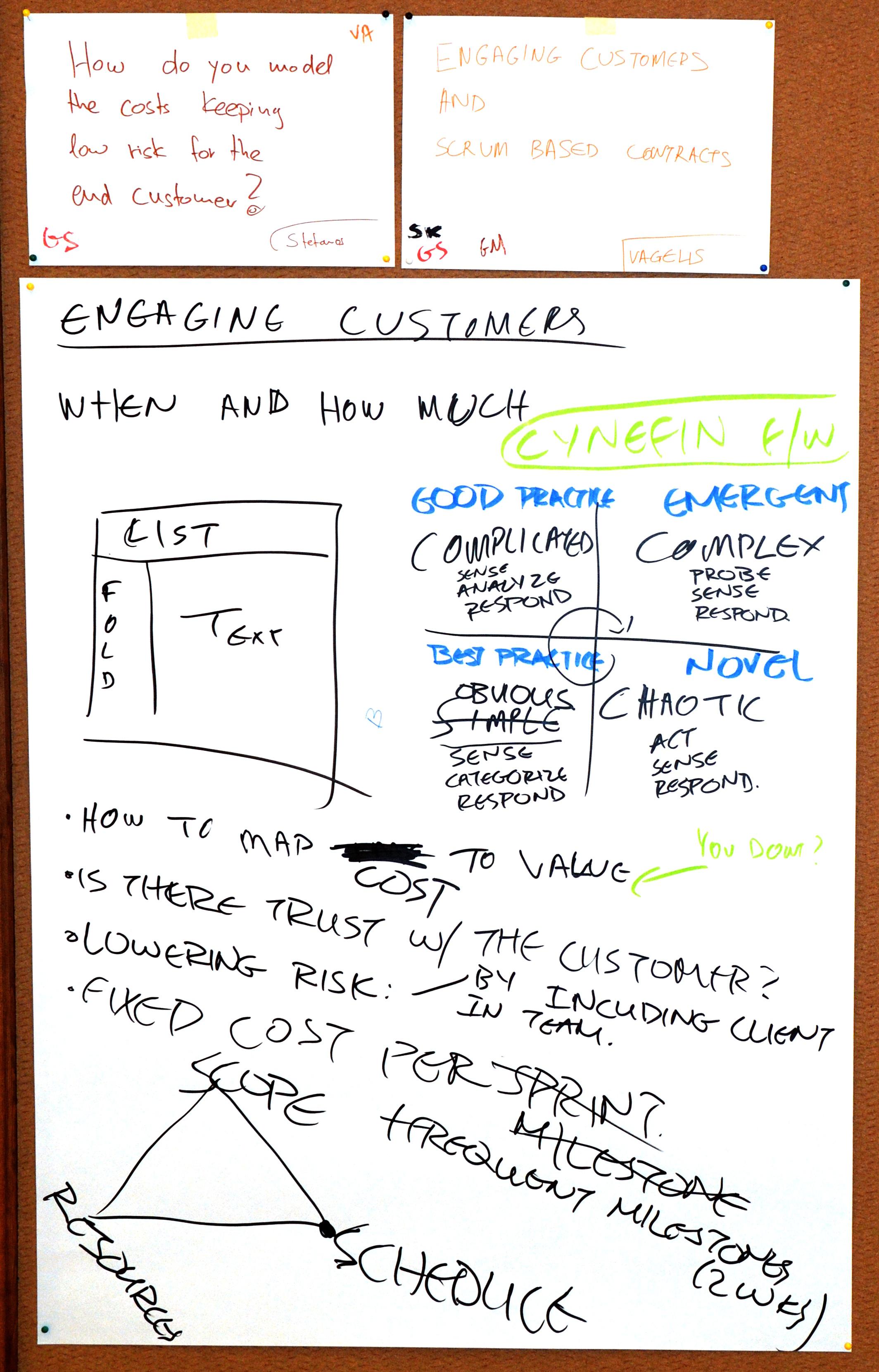 Harvest - Engaging customers
