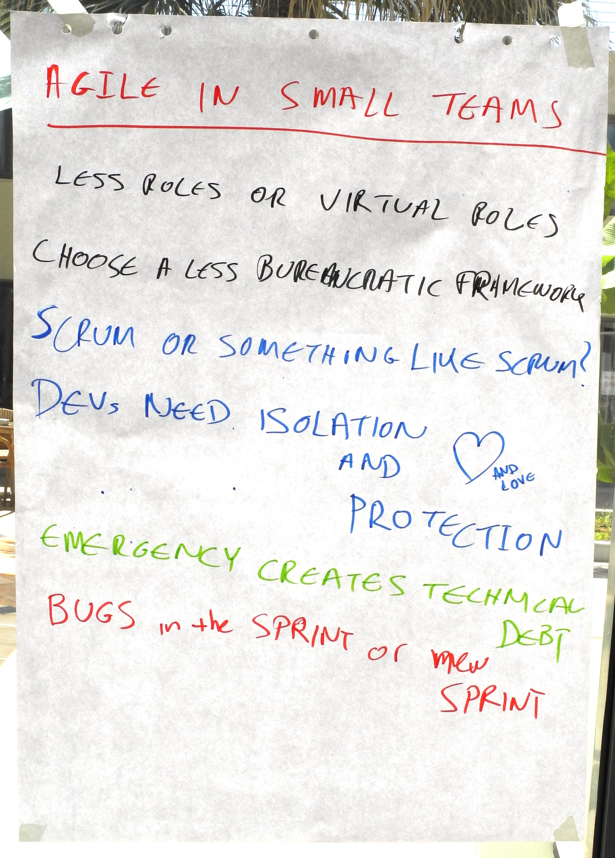 Harvest - Agile in very small teams